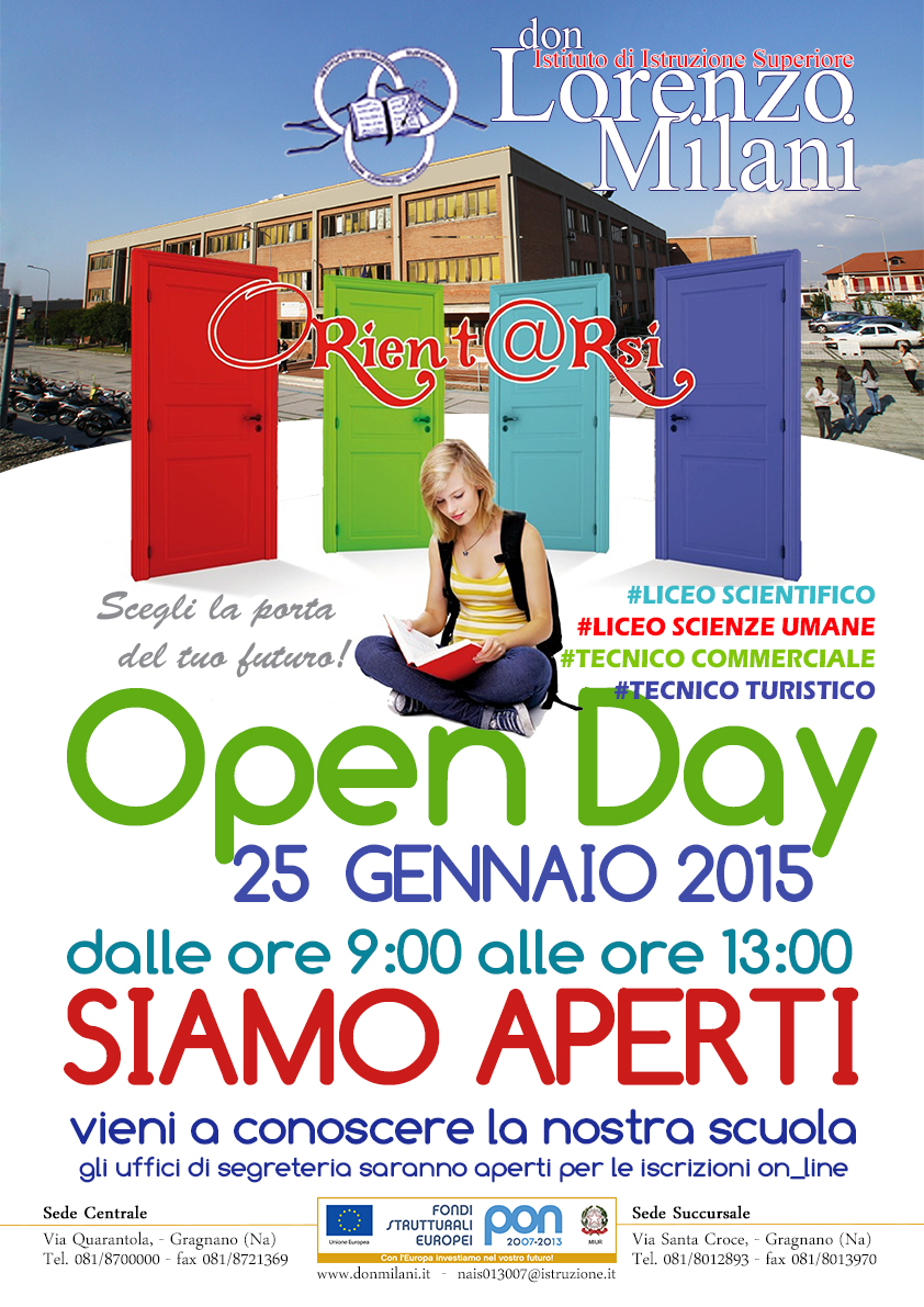 open day 25 01 2015
